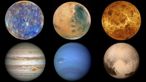 In pictures: Journey through the planets - BBC News | ELA Resources | Scoop.it