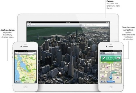 New Apple Maps app drops Google - MyBroadband | Realtime Web Dev | Scoop.it