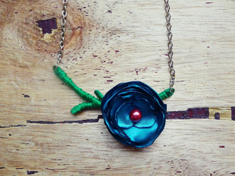 Tutorial: Single-Stem Rosette Necklace | Hand made | Scoop.it