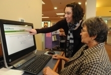 Library system adopts touch-screen technology | Technology in the Library | Scoop.it