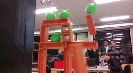 Angry Birds Sentry Gun has Pigs Flying | Raspberry Pi | Scoop.it