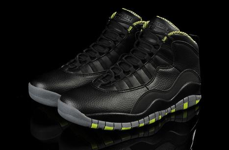 Air Jordan 10 Venom Green for Sale Online [310805-033] | Air Jordan shoes | Scoop.it