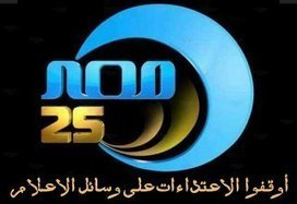 "ANHRI denounces assaulting the staff of ""Egypt 25 channel"" and holds the authorities and the political forces responsible for the protecting media-outlets during the protests 