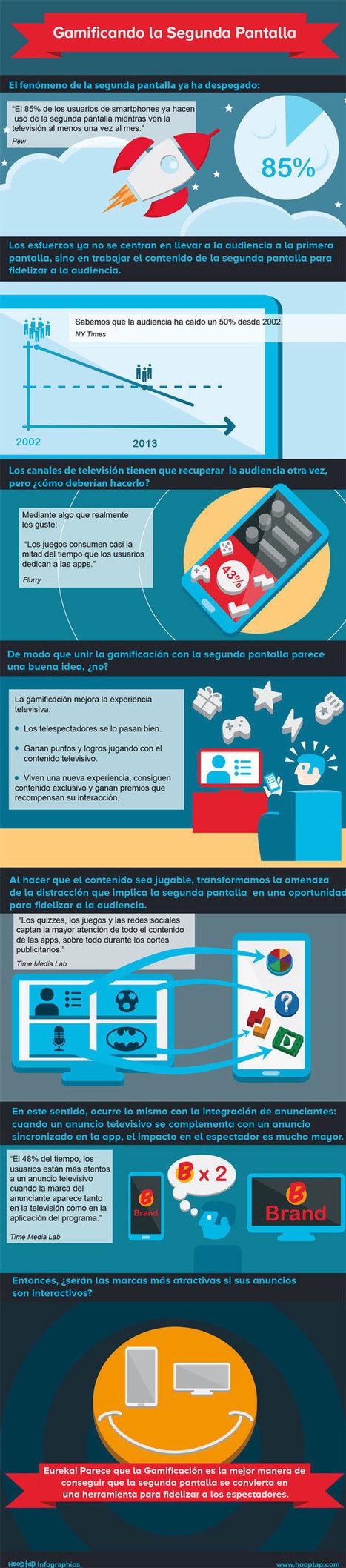 Gamificando la segunda pantalla #infografia #infographic #marketing   Seo, Social Media Marketing   Scoop.it