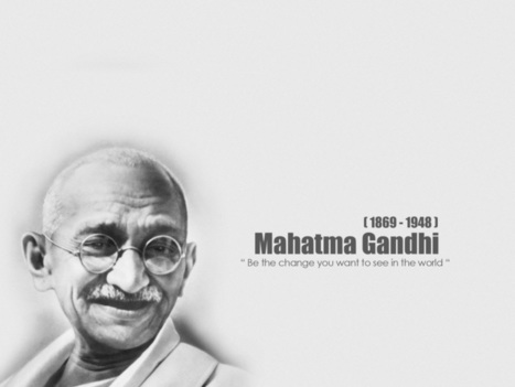 Top 10 Inspirational Quotes by Mahatma Gandhi | Positive Inspiration | Scoop.it