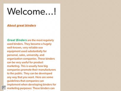 About Great Binder | Exclusive Custom Binders | Scoop.it