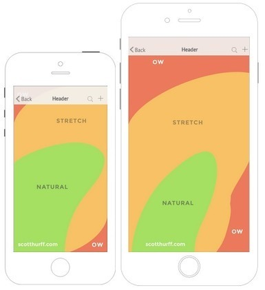 How to Design for iPhone 6 Plus | via @ThinkApps | Design and Tech | Scoop.it