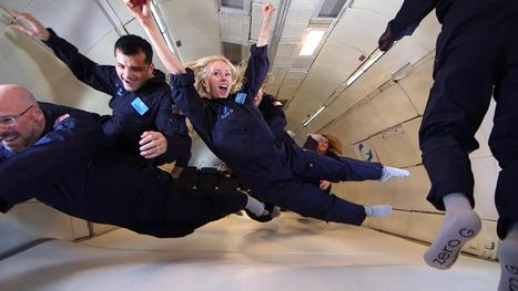 Virgin Galactic Space Tourists Shed Pounds (and Fears) on Zero-G Flight - NBC News | Aviation & Airliners | Scoop.it