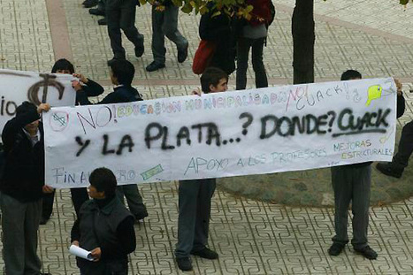 Un 80% de los chilenos está en contra del lucro en la Educación | Maestr@s y redes de aprendizajes | Scoop.it