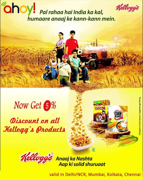 Want Save Money? Get Kellogg's Discount Offer   food   Scoop.it