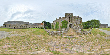 Devant le château de Pirou - France par Pascal Moulin Photographe - Panorama 360 x 180° | moulin360panoramic | Scoop.it