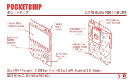 La PocketCHIP de Next Thing co. arrive bientôt! |  Open-Consoles | [OH]-NEWS | Scoop.it