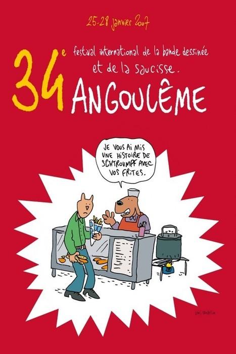 Angoulême blême ou Angoulême je t'aime ? Par lewis trondheim | BiblioLivre | Scoop.it
