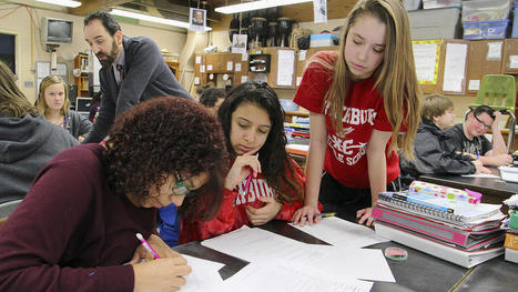 Fitchburg teacher finds success with 'flipped' classroom - Boston Herald   Flip   Scoop.it