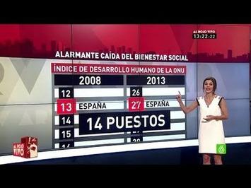 España cae 14 puestos en el ránking mundial de bienestar social (VIDEO) | Partido Popular, una visión crítica | Scoop.it