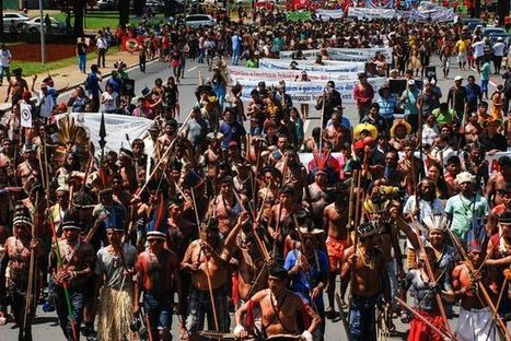 Indigenous People Occupy Brazil's Legislature, Protesting Bill's Violation of Land Rights | AUSTERITY & OPPRESSION SUPPORTERS  VS THE PROGRESSION Of The REST OF US | Scoop.it
