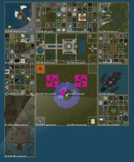 First preview of the main SL13B attractions   Second Life and other Virtual Worlds   Scoop.it