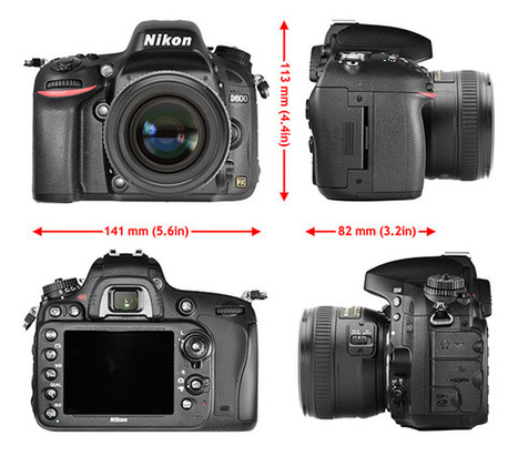 DxOMark Gives Nikon D600 an Overall Score of 94 | travel | Scoop.it