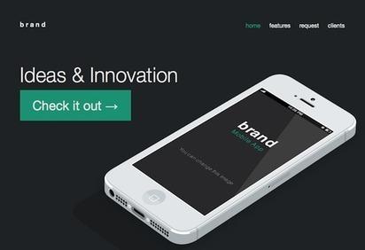 Responsive & Fluid Website Templates | website and email templates | Scoop.it