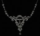 Diamond Necklaces   Antique White Gold & Black Diamond Necklaces   Libertons   Finest Vintage jewellery   Scoop.it