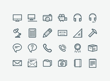 Free icons by first-class designers - IconStore | Learning Bytes from The Consultants-E | Scoop.it