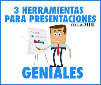 3 Herramientas para hacer impresionantes presentaciones. (Genially, PowToon y VideoScribe) | Imagen, vídeo y audio | Scoop.it