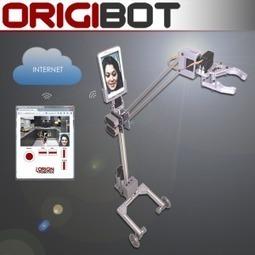 ORIGIBOT : un robot de téléprésence doté d'un bras mécanique - SilverEco   Une nouvelle civilisation de Robots   Scoop.it