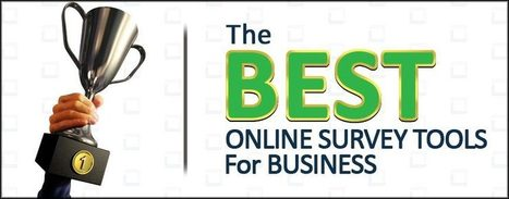 The Best Online Survey Tools for Business | Virtual Options: Social Media for Business | Scoop.it