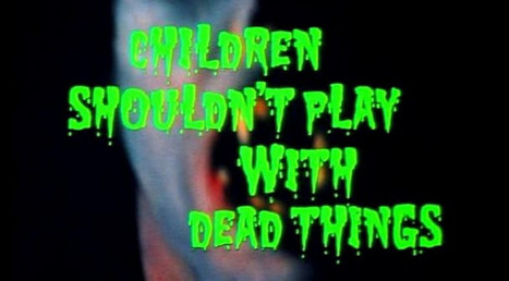 Children Shouldn't Play With Dead Things: Two Incantations To Call Forth Satan and Raise the Dead | Children Shouldn't Play With Dead Things | Scoop.it