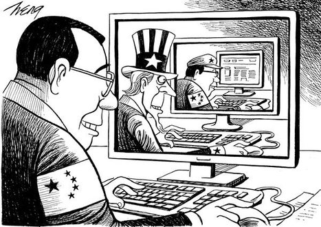 """""""FBI head says Chinese Hackers like a 'drunk burglar' aiming to steal from US Companies""""   Cybercrime News   Scoop.it"""