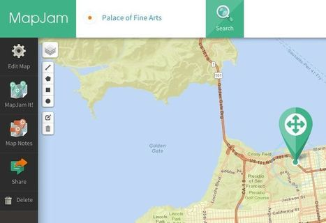 MapJam. Créer des cartes personnalisées | CDI & TICE | Scoop.it