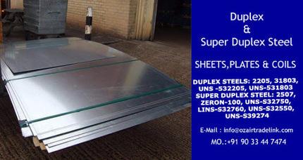 Duplex &amp; Super Duplex Stainless Steel Sheets, Plates &amp; Coils<br/><br/>&hellip; | Gaurav Steel | Scoop.it
