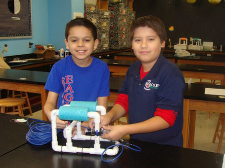 5th grade robotics competition winners to test invention at NASA labs | STEM Studies | Scoop.it