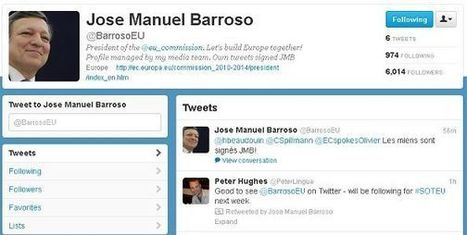 Welcome to Twitter, President Barroso! | eParticipate! | Scoop.it