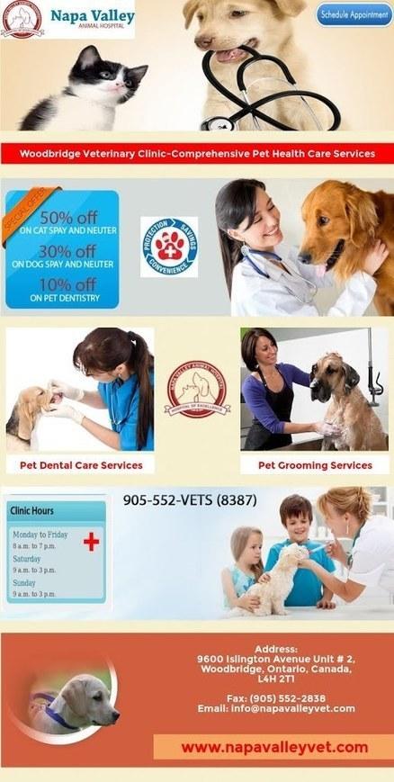 Woodbridge Veterinary Clinic-Comprehensive Pet Health Care Services | Napa Valley Animal Hospital | Scoop.it
