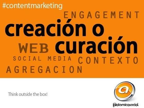 Curación o Creación de Contenidos   Atomica Consulting Team   Marketing de Contenidos & SEO, Inbound Marketing (Español)   Scoop.it