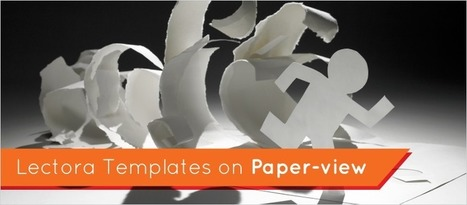 """Lectora Templates on """"Paper""""-view - eLearning Brothers 