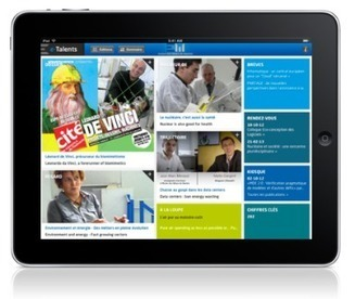 Application iPad Ecole des Mines de Nantes | Agence web & mobile imagescreations | Chiffres clés du mobile | Scoop.it