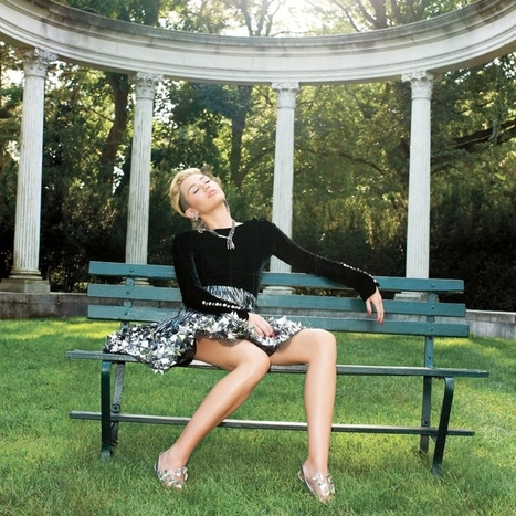 MILEY CYRUS MODELS COUTURE | CELEBRITY WORLD eDIGEST | Scoop.it