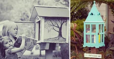 Lo que parecen lindos buzones, son realmente pequeñas bibliotecas comunales | TUL | Scoop.it