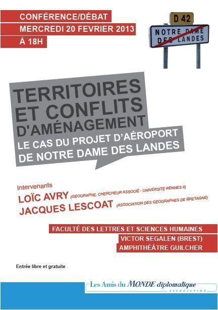 La conférence brestoise est annoncée dans La Lettre des Amis du monde diplomatique — février 2013 | Amis du Monde Diplomatique Brest | Scoop.it