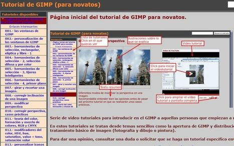 Completo Tutorial de GIMP para novatos   Educativas   Scoop.it