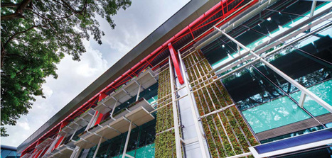 This Singapore Building Is Home To The 'Office Of The Future' | Green Buildings in Singapore | Scoop.it