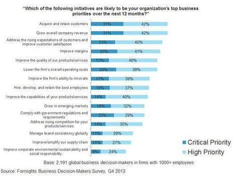 Carpe Diem With The CRM Playbook: Growing Customers And Revenues Are Top Priorities For 2013 | Forrester Blogs | Designing  service | Scoop.it