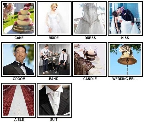 100 Pics Weddings Answers | 100 Pics Answers | 100 Pics Quiz Answers | Scoop.it
