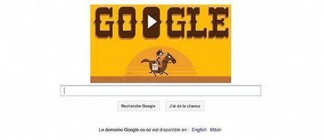 Doodle du jour : 155e anniversaire du Pony Express (Google) | Méli-mélo de Melodie68 | Scoop.it