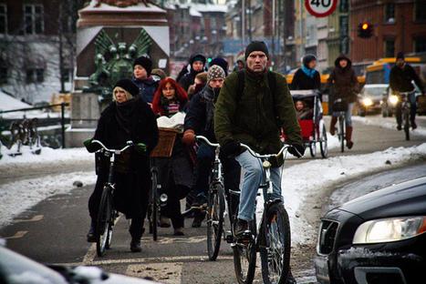 Copenhagenize.com - Bicycle Culture by Design: Cycling in Winter in Copenhagen | Active Commuting | Scoop.it