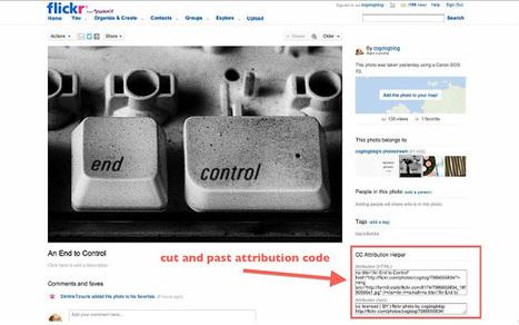 Deux extensions chrome pour utiliser les photos Flickr soumises à la licence de créative Commons | Mes outils du web | Scoop.it