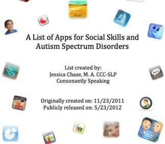 Social Skills and Autism Spectrum Disorders App List | Consonantly Speaking | iPad's as Assistive Technology | Scoop.it