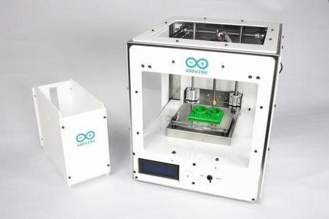 Materia 101 es la impresora que Arduino quiere meter en aulas y espacios creativos colaborativos | Educación y TIC en Mza | Scoop.it